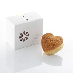 ハートケーキ バニラ